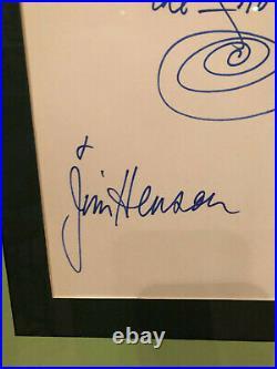 1/1 Ultra Rare Jim Henson Signed Inscribed Kermit The Frog Full Jsa Loa Bas Psa