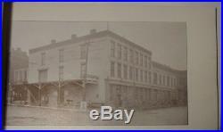 1895 Book Alton Illinois Sentnel Democrat Souvenir Album Autographed