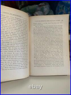 1922 Book Signed by Sigmund Freud NEUROSENLEHRE Autograph Psychoanalysis + COA