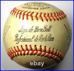 1960's Roberto Clemente Signed and Inscribed Autographed Baseball PSA/DNA LOA