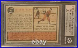1962 Topps Gaylord Perry Signed Rookie Card Inscribed Hof 91 Beckett Authentic