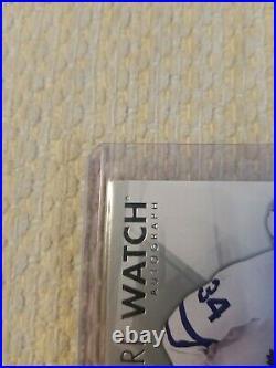 2016-17 Auston Matthews Future Watch Auto Inscribed Mint