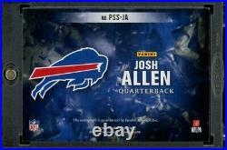 2018 Origins Josh Allen Rookie 1/1 Auto Inscribed Bills Mafia Passing Stars RC