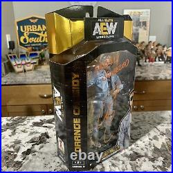 AEW Orange Cassidy Autographed Signed & Inscribed S3 Figure with COA & Case