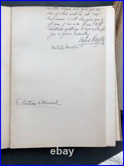 Alfred Stieglitz, Autographed, Camera Works Vol19,21,36 Inscribed December 1911