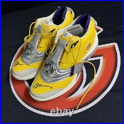 Allen Iverson Signed Answer Vs Inscribed Mamba Forever Autographed JSA