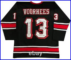 Ari Lehman Autographed Multi Inscribed Jason Voorhees Friday The 13th Jersey JS