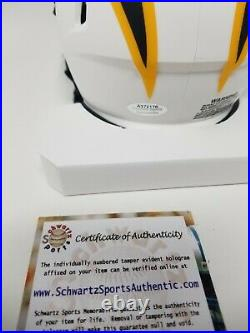 Austin Ekeler Chargers Signed Autographed Lunar Eclipse Mini Helmet Inscribed