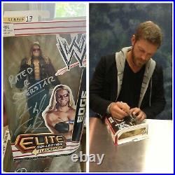 Autographed Inscribed Edge Elite Series 13 Flashback Figure