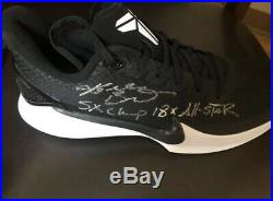 Autographed Inscribed Shoe at Kobe + Vanessa Bryant Charity Foundation Rare Auto
