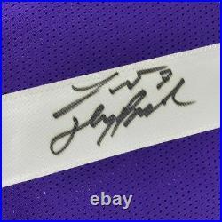Autographed/Signed TYRANN MATHIEU Inscribed Honey Badger LSU Jersey PSA/DNA COA