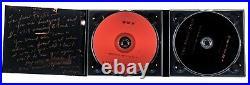 Barbra Streisand CD SIGNED & INSCRIBED to Phyllis Diller in Metallic Gold Marker