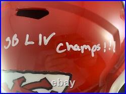 Bashaud Breeland autographed signed inscribed Full Size Helmet KC Chiefs PSA COA