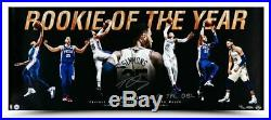 Ben Simmons Autographed & Inscribed Rookie of the Year 36 x 15 Photo 76ers UDA