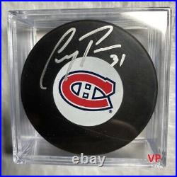 CAREY PRICE Autographed/Inscribed Montreal Canadiens NHL InGlasCo. Hockey Puck