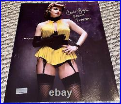 CARLA GUGINO Autographed Signed & Inscribed 8x10 Photo Sally Jupiter Watchmen