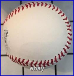 Cal Ripken Jr Orioles signed MLB Baseball inscribed 2007 HOF AUTO autograph JSA