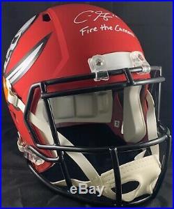 Chris Godwin autographed signed inscribed Full Size Helmet AMP Buccaneers JSA