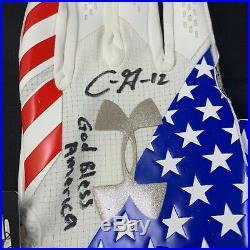 Chris Godwin autographed signed inscribed Gloves NFL Tampa Bay Buccaneers JSA
