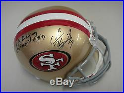 Colin Kaepernick Tristar Authenticated Signed 49ers Helmet Autographed Inscribed