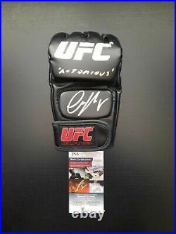 Conor McGregor Signed Autographed UFC MMA Glove Inscribed Notorious JSA COA