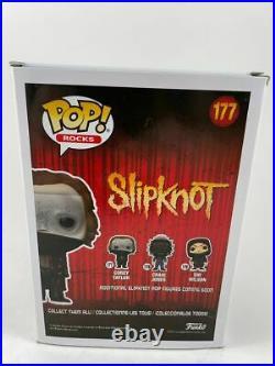 Corey Taylor Signed Inscribed Slipknot Funko POP E Autograph Stone Stour BAS COA