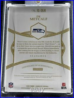 DK METCALF 1/1 Signature Glove Flawless 1/1 Inscribed