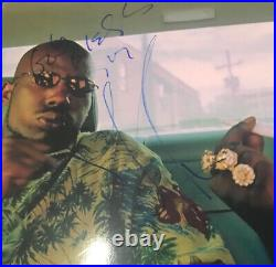 DMX Rare Autographed Signed 8x10 PHOTO INSCRIBED GOD BLESS BAS COA BECKETT