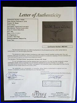 DR SEUSS Inscribed Best Wishes Signed SLEEP BOOK Autographed AUTO JSA LOA