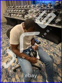 Darren Woodson autograph signed inscribed eclipse mini helmet Dallas Cowboys JSA