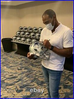 Darren Woodson autographed signed inscribed Full Size Speed Helmet Cowboys JSA
