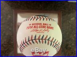 Derek Jeter Autographed Inscribed Last ASG Baseball Steiner LE 7/22