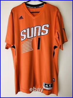 Devin Booker Signed Inscribed Phoenix Suns Autograph NBA Swingman Jersey JSA COA