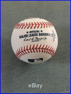 Donald Trump Hand Signed Autographed OMLB Baseball Inscribed Best Wishes COA