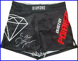 Dustin Poirier autographed signed inscribed trunks UFC The Diamond PSA COA