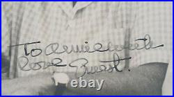 ERNEST PAPA HEMINGWAY Inscribed and Signed Photograph RARE IN THIS FORM