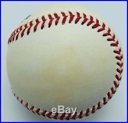 Eddie Matthews Signed Autographed ONL Baseball Inscribed HOF 78. PSA/DNA Grade