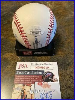 Eddie Murray Signed Autographed ROMLB Baseball HOF2003 Inscribed JSA COA