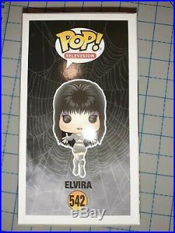 Elvira Cassandra Peterson Signed Inscribed Autographed Funko Pop Bas Coa Mummy
