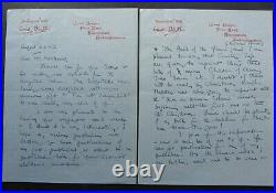 Enid Blyton, SIGNED 4 Page Hand-written Letter, August 23rd 1947, Famous Five
