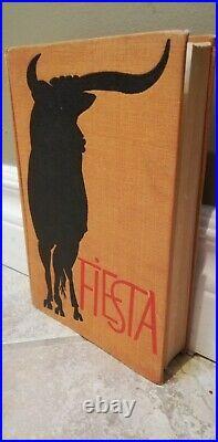 Ernest Hemingway Hand Signed Book'Fiesta' -Autographed