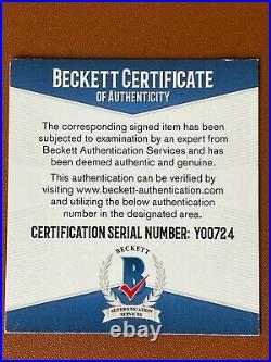 Fernando Tatis Jr. Autographed MLB Baseball Beckett COA Y00724 23 Inscribed