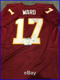 Florida State Seminoles Charlie Ward Autographed Signed Inscribed Jersey Bas Coa
