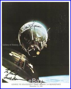 Frank Borman Inscribed Photograph Signed Co-signed By James A. Lovell