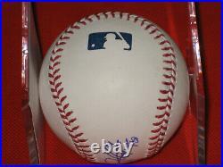 Gem Mint Bryce Harper AUTOGRAPHED & Inscribed Rawlings OML Baseball PSA/DNA