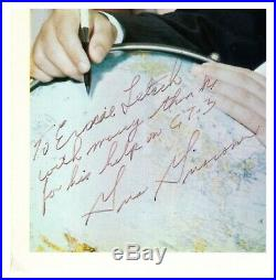 Gus Grissom Photograph Signed Inscribed to Gemini 3 Engineer RRAuction COA