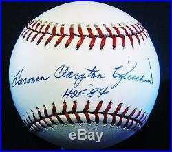 HARMON CLAYTON KILLEBREW HOF 84 inscribed Autographed baseball Twins COA RJ. Com