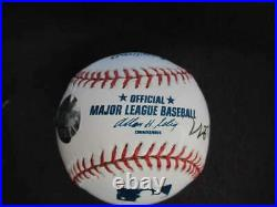 Hank Aaron Signed Autograph Auto Omlb Baseball Inscribed 755 Hammerin Bb1681