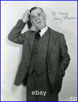 Henry Travers Autographed Inscribed Photograph