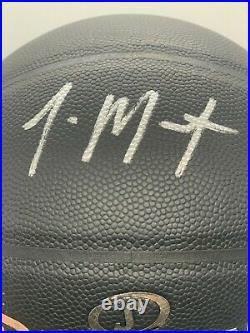 Ja Morant Autographed Spalding Basketball 2020 ROY Inscribed Panini LOA